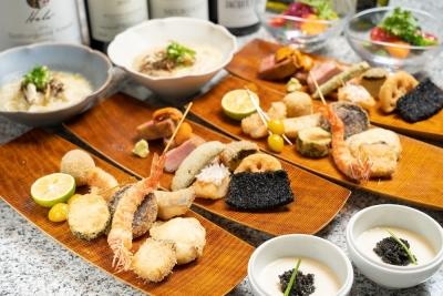 和のテイストをイタリアンに加えた創作料理を提供。隠れ家的な雰囲気が魅力のお店です。