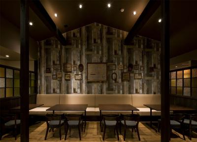 外観は赤レンガ倉庫風、店内はスタイリッシュな人気カフェ。カフェ業務全般をおまかせします!