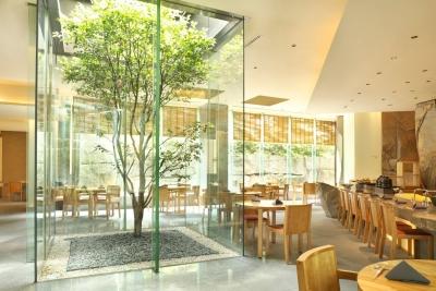 日本料理「旬房」店内。