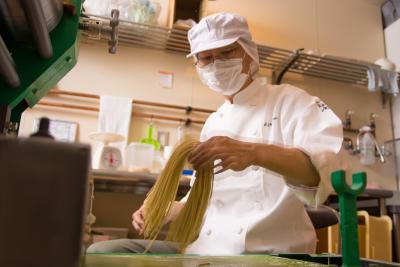 地元・北海道の食材を使った地産地消のラーメンを提供しています