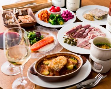 """""""五反田でちょっといいワイン""""をコンセプトに、ワインに合うビストロ料理を提案していこう!"""
