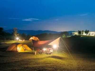 本社に併設する約5万坪のキャンプフィールド。ここに2021年春、レストランがオープン!