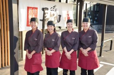 奈良県内5店舗で寿司職人を募集!