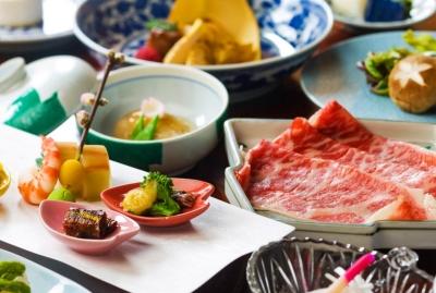 信州で取れた旬の食材を使った信州会席料理を提供。心のこもったサービスをお願いします