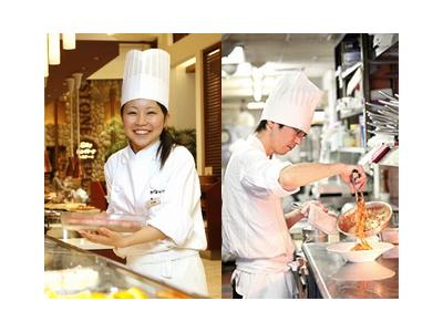 千葉県にあるテーマパークの複合商業施設内にあるレストラン勤務です!