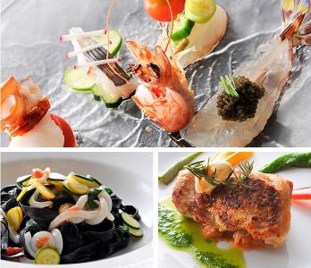 素材の味を生かして味付けしたイタリアンは絶品!