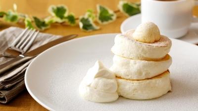 ふわっふわの食感が大好評のパンケーキを作ってみませんか♪未経験の方にも丁寧に教えます◎