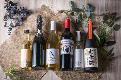 ワインや日本酒とのマリアージュをお届けしています。