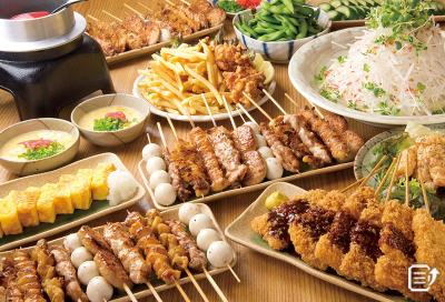 全国で展開中の串焼き料理が自慢の居酒屋チェーン!大阪の店舗でご活躍を!