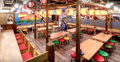 まるで海の家のような店内で、「浜焼き」が楽しめると話題のお店です!