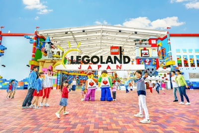 名古屋の観光スポット人気NO.1になったLEGOLAND(R)Japan