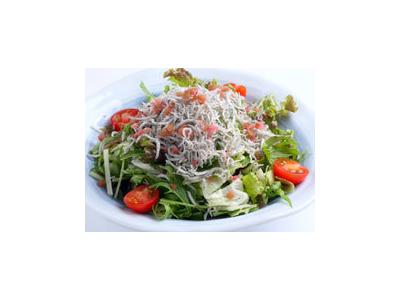 とんかつやとんてきのほか、旬の食材にこだわったサラダなども好評です。