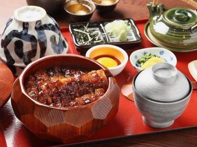 三重県の有名神社に奉納している縁起の良いうなぎ料理店!