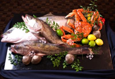 旬食材、魚料理を愉しめます