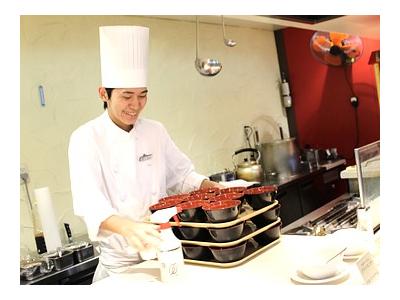 ホテルレストラン洋食調理スタッフ募集!要調理師免許。バイキングレストラン等での経験ある方、歓迎!通勤も住み込みもどちらも歓迎します!