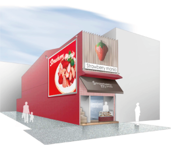 NEW! 2018年6月、心斎橋に誕生『Strawberry Mania』〜ストロベリーマニア〜