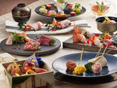日本料理・和食の経験者は優遇します。高い評価を頂いている「会席料理」をメインに多彩な料理をお任せ。
