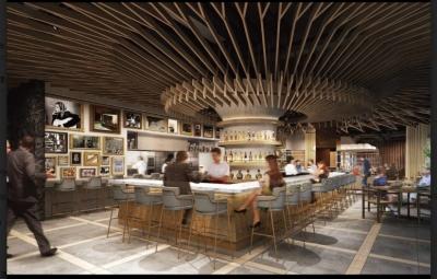 ディナーはブラッセリースタイルで、豊富な種類のお酒をお届けします。