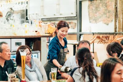 店舗ごとに裁量があるので、お店づくりに積極的に参加することができます。