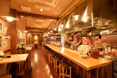 チェーン店でありながら、個性豊かな店舗が、関西を中心に続々と出店中!