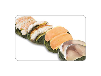 しゃりから寿司酢までこだわりの食材を使用。わさび葉すしも人気です。