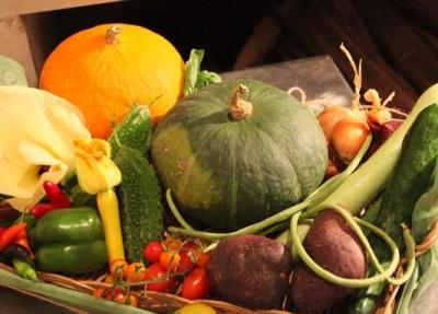 その日採れた野菜でメニューを決めることも。素材を活かした新メニュー作りも磨けます。