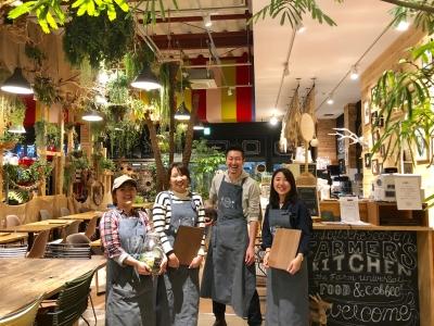千葉・東京で展開するカフェの統括をになう「SV」ポジションを新設します。