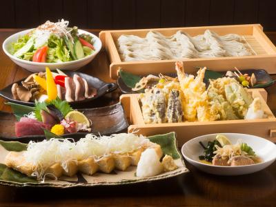 天ぷらやお造り、だし巻きなど、和食の一品メニューが多数!