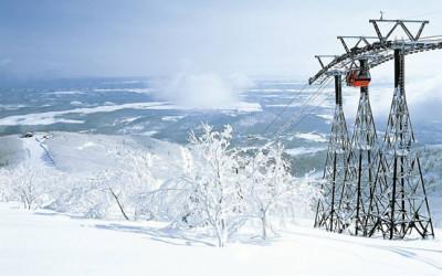 高い晴天率を誇る道東最大のスキー場