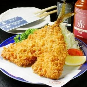 有名グルメドラマに登場したアジフライ!新宿で大人気の和食居酒屋です