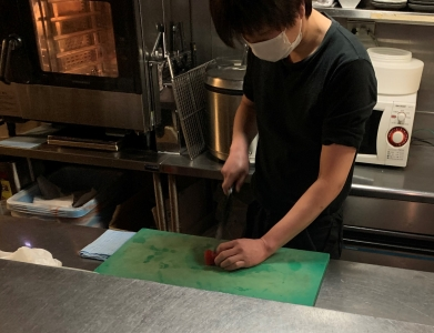 上質な食材を使った調理スキルと、きめ細かな接客スキルを身につけることができます!