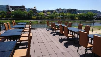 夏は京都の夏の風物詩である川床もお楽しみ頂けます