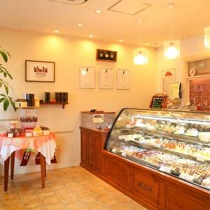 看板チョコレートスイーツ「アルハンブラ」が人気の洋菓子店!