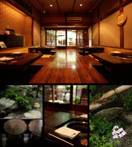 昭和2年建造の町家をリノベーション。中庭もあります。