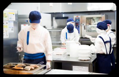 千葉県内にある有料老人ホームでの調理業務をおまかせします。