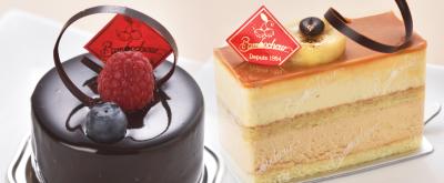 定番からオリジナルまで、ケーキのラインナップが豊富です