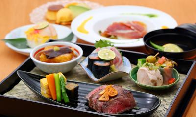 岡山市にあるホテル内の鉄板焼きレストランです。