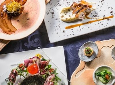 奈良野菜、大和赤牛などの地元食材のほか、グループ内の施設から届く日本各地の食材を扱っています。
