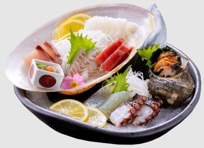 淡路岩屋漁港から直送された鮮魚をおまかせで盛合わせ。あなたの腕をふるってください!