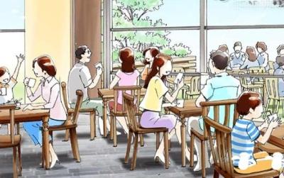 イギリス発祥のかわいいキャラクターのコンセプトカフェ。