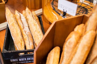 心を込めて作ったパンで、お客さまに笑顔と感動をお届けします