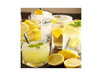 種類豊富なレモンサワーに日本酒、溶岩焼、圧倒的な鮮度のお造りなどが自慢です!