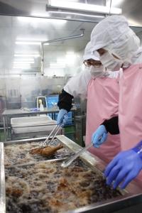 2018年に竣工されたばかりの新しい工場で、食品の製造管理に携わってください