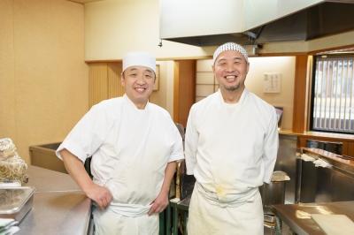 昭和48年創業、かき揚げ丼で有名な当店で働きませんか?