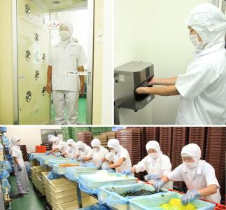 安心・安全なお弁当作りは、徹底的な衛生管理から生まれます。