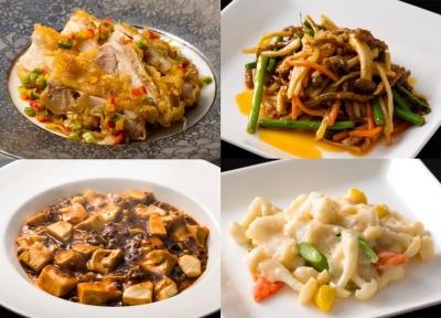 本格的な中国料理はもちろん、フランス料理や日本料理の要素を加えたアレンジモダンチャイニーズ。