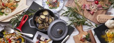 地元産の野菜や牛肉などを使った繊細で色鮮やかな洋食を提供しています。