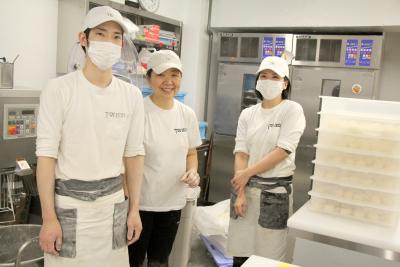 雰囲気の良い環境で多くの方に喜んでいただけるパン作りができます