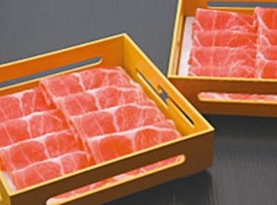 上質なブランド肉をしゃぶしゃぶ食べ放題のスタイルで提供しています◎