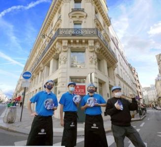2020年10月にオープンした釜喜利うどんパリオペラ店!パリ勤務のチャンスもあり♪